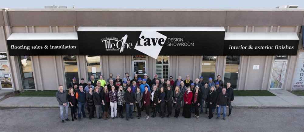 The team at Rave Design Showroom